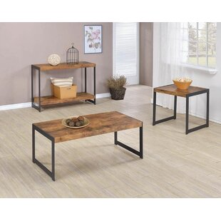 Williston Forge Cohan 3 Piece Coffee Table Set