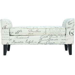 Hernandez Upholstered Bench by Ophelia & Co.
