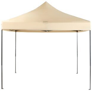 1m X 1m Steel Pop Up Gazebo By VonHaus