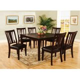 Edelson Bridgette 7 Piece Solid Wood Dining Set by Winston Porter
