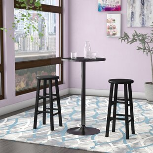 Zipcode Design Avery 3 Piece Counter Height Pub Table Set