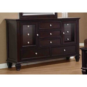 Cianchette 11 Drawer Combo Dresser by Red Barrel Studio