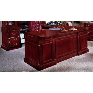 Prestbury L-Shape Executive Desk with Center Drawer