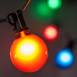 Read Reviews 15-Light Globe String Lights By Wintergreen Lighting
