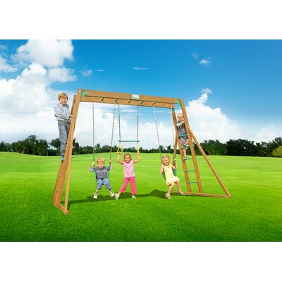Classic Top Ladder Swing Set Creative Playthings