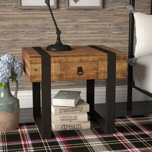 Chelsea 1 Drawer End Table by Laurel Foundry Modern Farmhouse