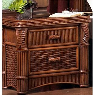 Florentine 2 Drawer Nightstand