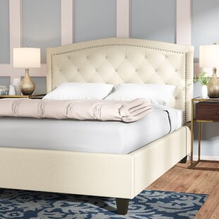 Compare Searcy Tufted Linen Upholstered Platform Bed by Three Posts Reviews (2019) & Buyer's Guide