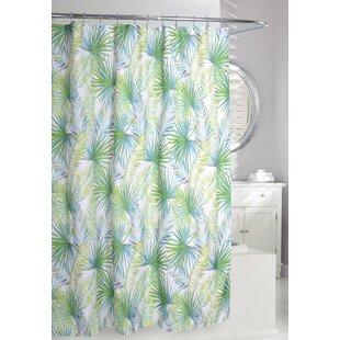 Palm Tree Single Shower Curtain