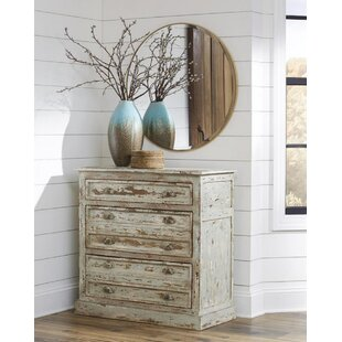 Eligah Stand 3 Drawer Accent Chest by Rosecliff Heights