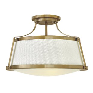 Charlotte 3-Light Semi Flush Mount