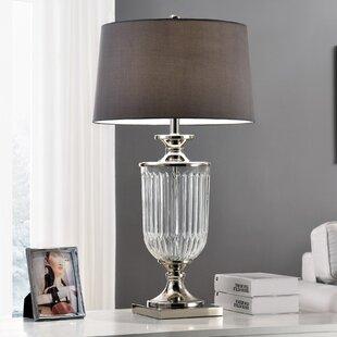 Glass Goblet Inspired 32.5 Table Lamp