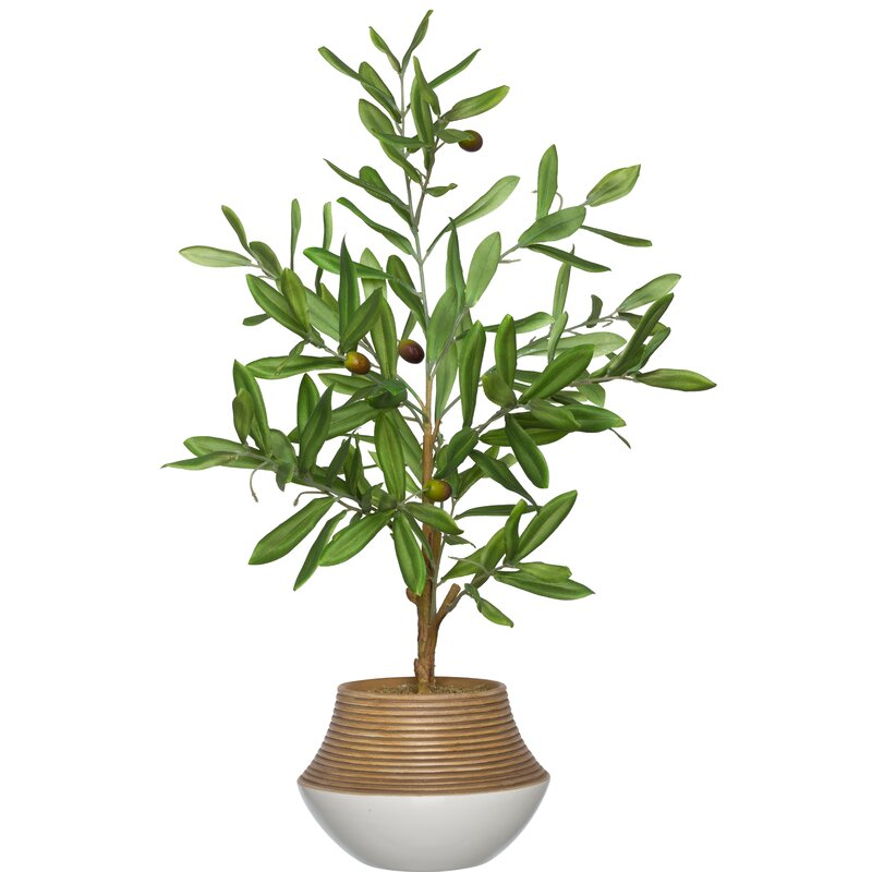 Artificial Olive Tree Tree in Planter