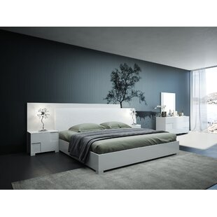 Parman Italian Queen Platform 5 Piece Bedroom Set
