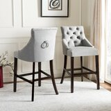 Ring Counter & Bar Stool (Set of 2) by Darby Home Co