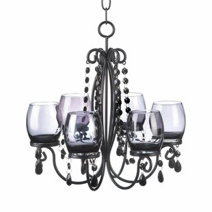 House of Hampton Linnea 6-Light Shaded Chandelier