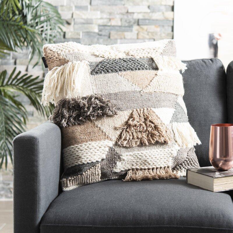 Foundry Select Banstead Wool Throw Pillow Wayfair