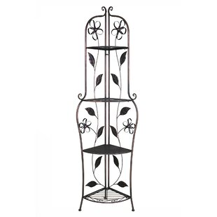Winston Porter Essexville Ribbon Steel Baker's Rack