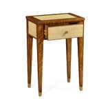 Bayswater End Table with Storage by Jonathan Charles Fine Furniture