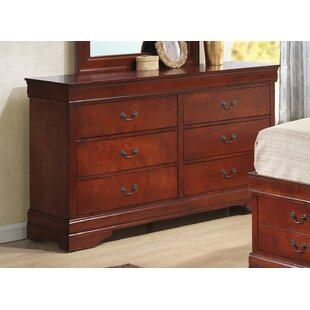 Laurel Foundry Modern Farmhouse Heiss 6 Drawer Double Dresser