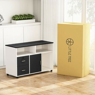 Timmothy 2-Drawer Mobile Lateral Filing Cabinet by Winston Porter