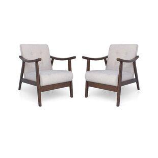 Cartert Armchair Set of 2 by Corrigan Studio