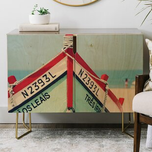 Ingrid Beddoes Portuguese Fishing Boat Credenza East Urban Home