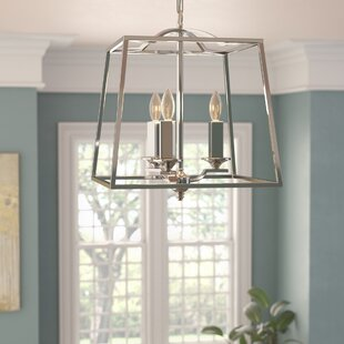 Inexpensive Senter 3-Light Lantern Chandelier By Willa Arlo Interiors