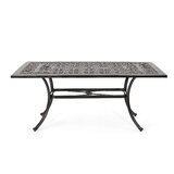 Rison Metal Dining Table