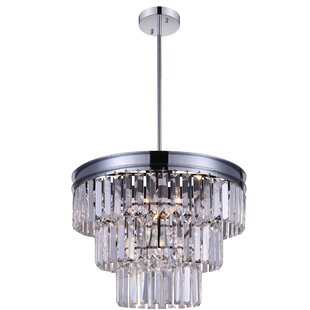 Bargain Weiss 5-Light Chandelier By CWI Lighting