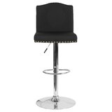 Itzayana Swivel Adjustable Height Bar Stool by Winston Porter