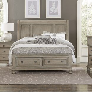 Carleton Storage Sleigh Bed by Canora Grey
