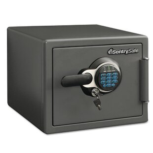 Sentry File Safe with Electronic Lock by AmpliVox Sound Systems