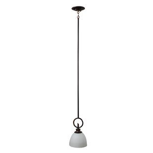 Kelsey 1-Light Bell Pendant by Whitfield Lighting