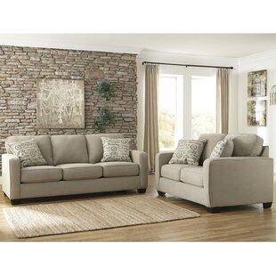 Phinnaeus 2 Piece Living Room Set