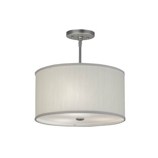 Meyda Tiffany Cilindro Textrene 3-Light Drum Chandelier
