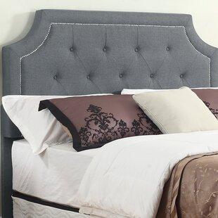 Monett Upholstered Panel Headboard by House of Hampton