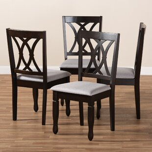 Botts Solid Wood Dining Chair (Set of 4)