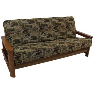 Tapestry Box Cushion Futon Slipcover