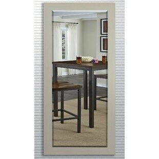 Gracie Oaks Leederville Rectangle Aluminum Beveled Wall Mirror
