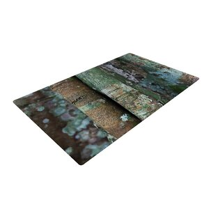 Susan Sanders Into the Woods Rustic Brown Area Rug