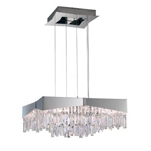 Schonbek Riviera 8-Light Crystal Chandelier