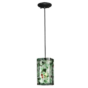 Metro Parade Quadrato 1-Light Square/Rectangle Pendant by Meyda Tiffany