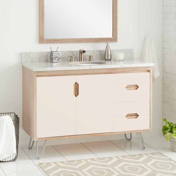 Signature Hardware Millie 49 Single Bathroom Vanity Set Wayfair