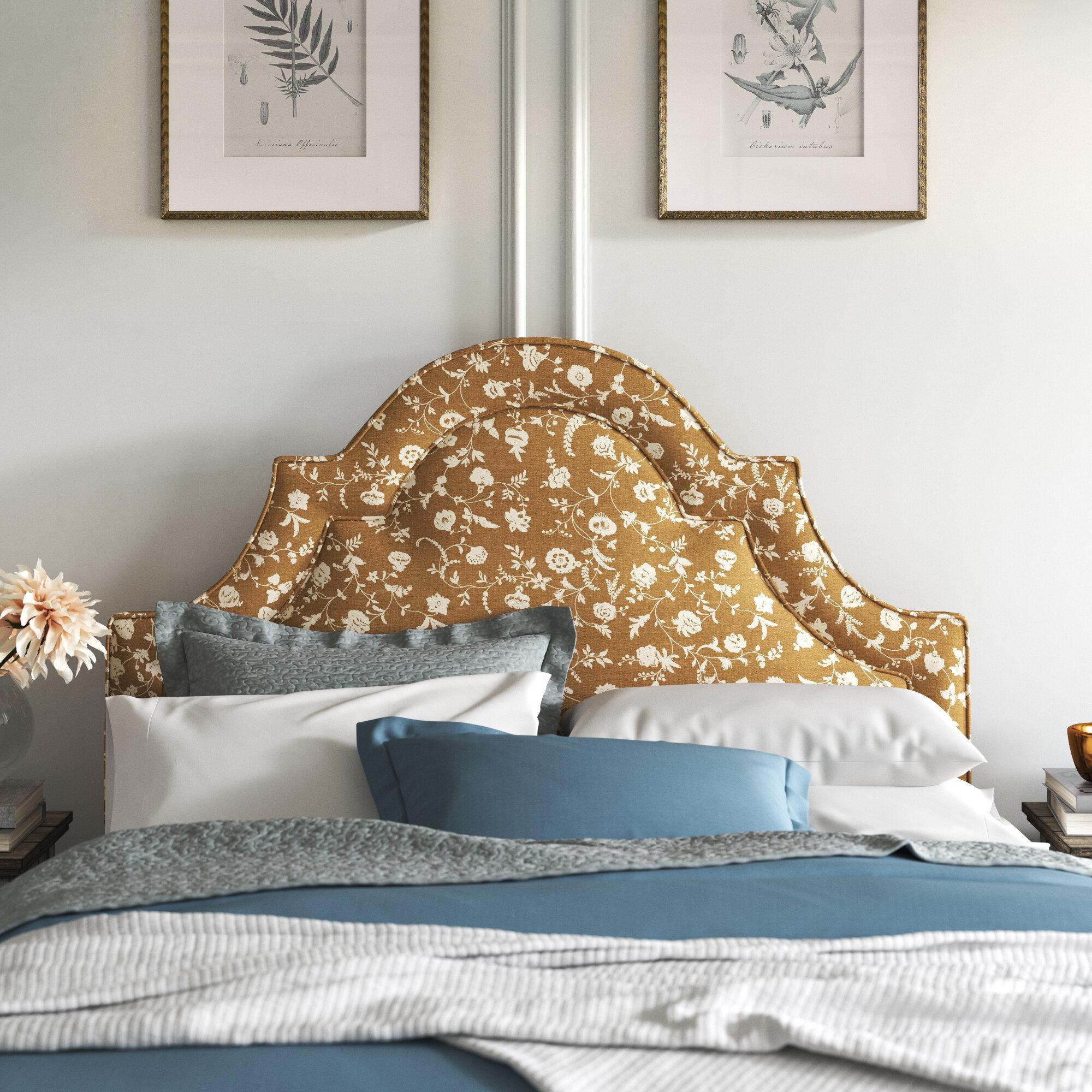 Kelly Clarkson Home Sonata Upholstered Panel Headboard Wayfair