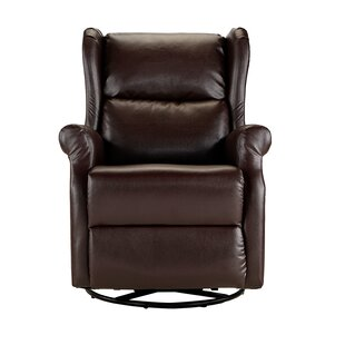 Hosler Manual Swivel Recliner by Winston Porter