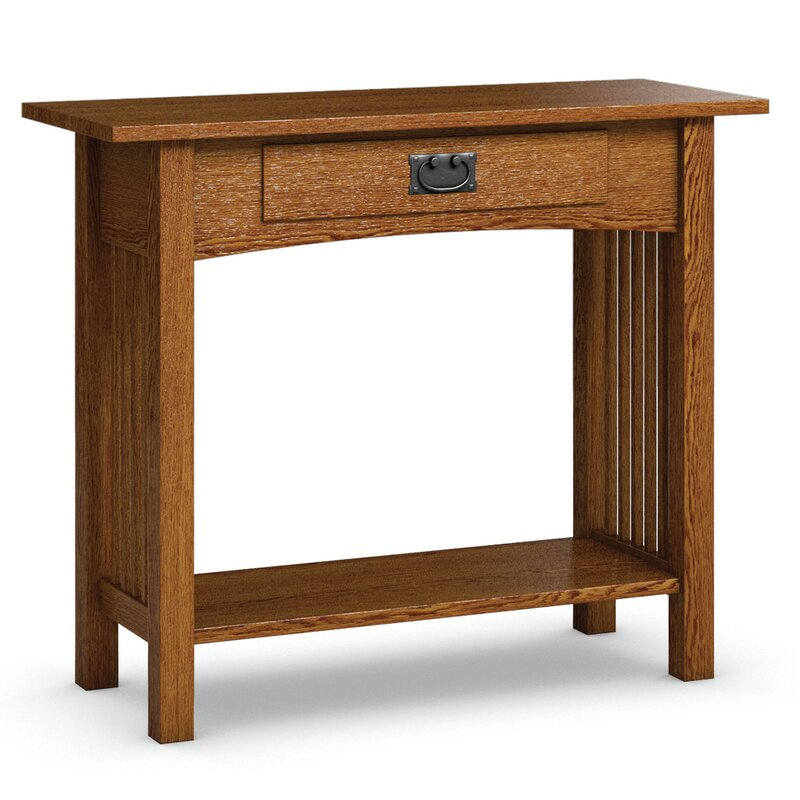 Caravel Mission Hills Sofa Table With Drawer Amp Reviews