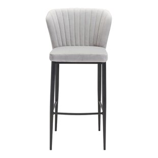 Reviews Corsham 30.1 Bar Stool by Everly Quinn Reviews (2019) & Buyer's Guide
