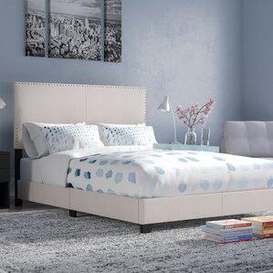 Amesbury Upholstered Panel Bed by Zipcode Design