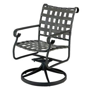 Woodard Ramsgate Swivel Rocking Chair with Cushions